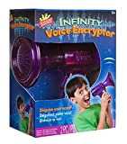 Scientific Explorer Infinity Voice Encryptor is a hilarious hand-held toy that lets you disguise your voice over a bazillion different ways. This toy allows you to create different altered effects and desired voices by adjusting the alpha switches on...