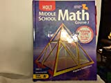 Middle School Math, RINEHART AND WINSTON HOLT, 0030379644