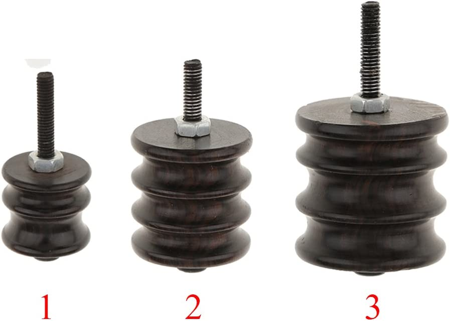 3 Pieces Leathercraft Electric Grinding Head Leather Burnisher Polished Slicker Set DIY