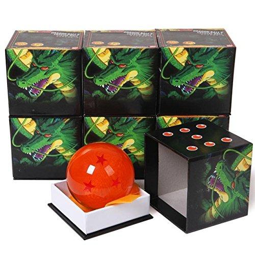Game, Fun, 1Pcs 7cm Dragon Ball Z Star Crystal Ball PVC Figure Toys Dragonball Z Crtstal Balls Toy 1~7 Star Selectable, Toy, Play