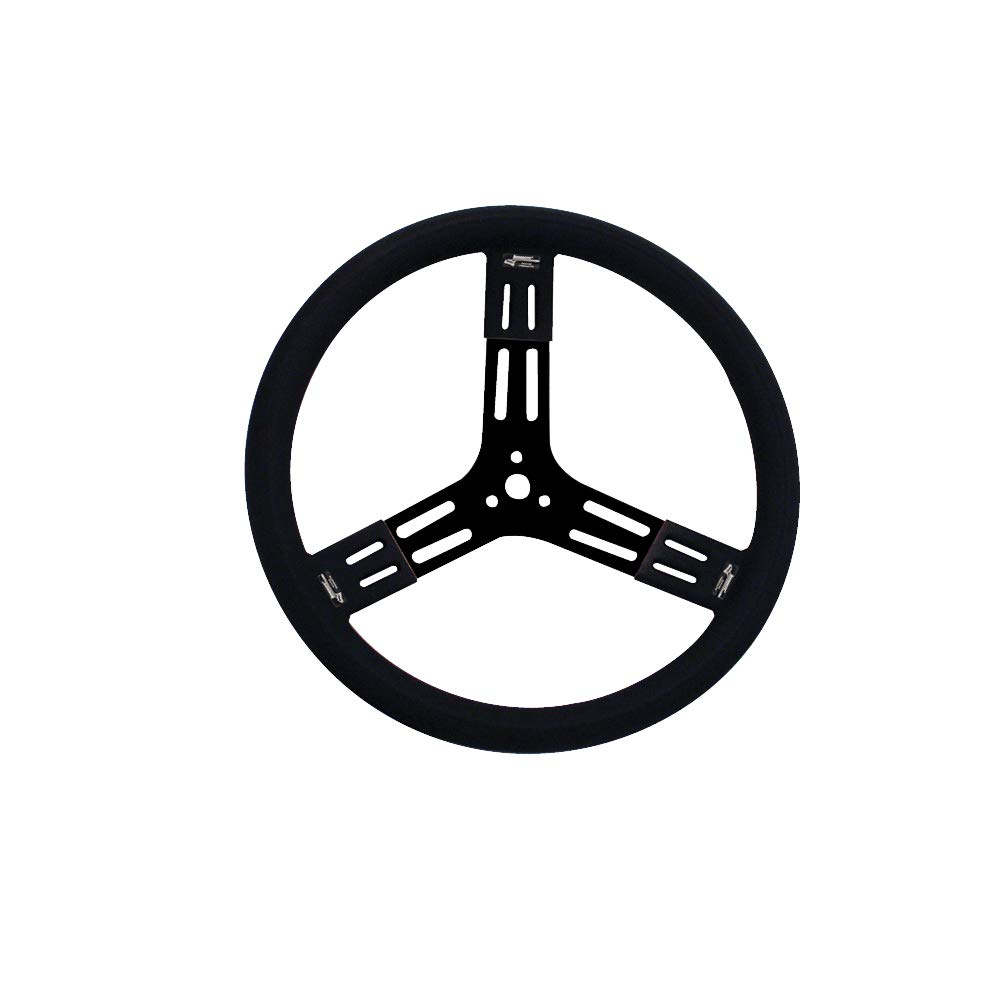 Longacre 56801 Aluminum Steering Wheel with Smooth Grip