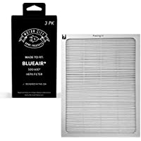 Blueair Part # 501, 503, 550E, 601, 603, 650E for Blueair 500/600 Series, Compatible Air Purifier Filter. Motor City Home Products Replacement 3PCS