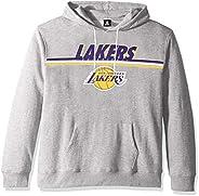 UNK NBA Mens Los Angeles Lakers Men's Fleece Hoodie Pullover Sweatshirt Out of Bo