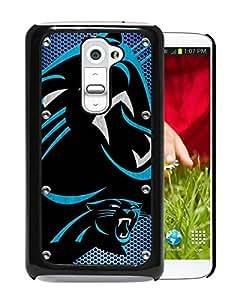 For LG G2,Carolina Panthers 04 Black Protective Case For LG G2