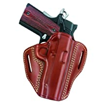 Gould & Goodrich GG800-250 Gold Line Open Top Two Slot Holster, Fits Sig 250 Compact 9mm, 40, 0.357 (Chestnut Brown)