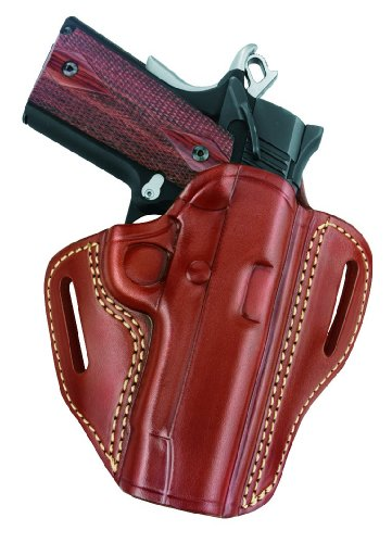 Gould-Goodrich-800-194-Gold-Line-Open-Top-Two-Slot-Holster-Chestnut-Brown-Fits-most-1911-type-pistols-with-30-to-425-bbl-incl-COLT-Defender-Officers-ACP-Commander-Combat-Commander-Lightweight-CCO-KIMB