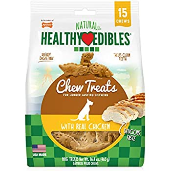 Amazon.com : Nylabone Natural Nubz Edible Dog Chews Size