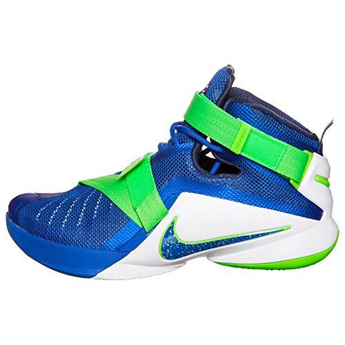 Nike Lebron Soldier Ix - Calzado Deportivo para hombre Azul - azul