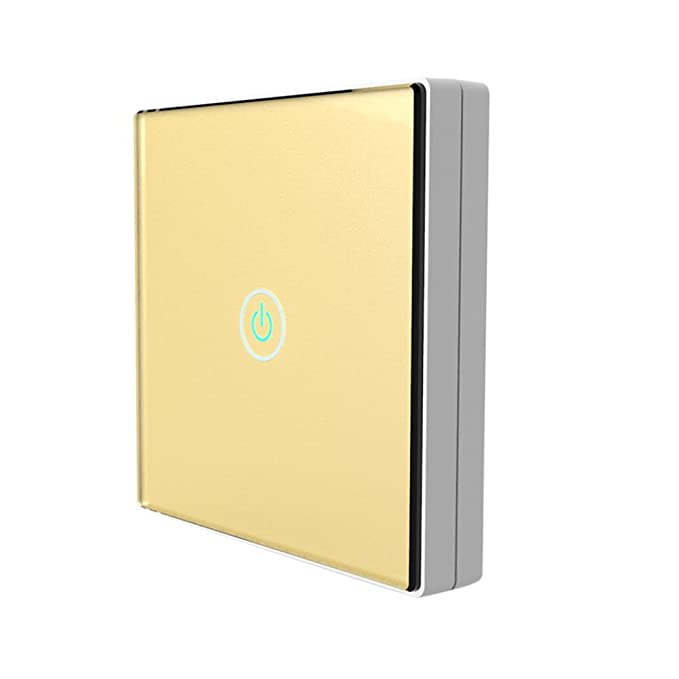 Smart Home Wall Light Switch 1 Gang,100-240V Hand Switch Wireless ...