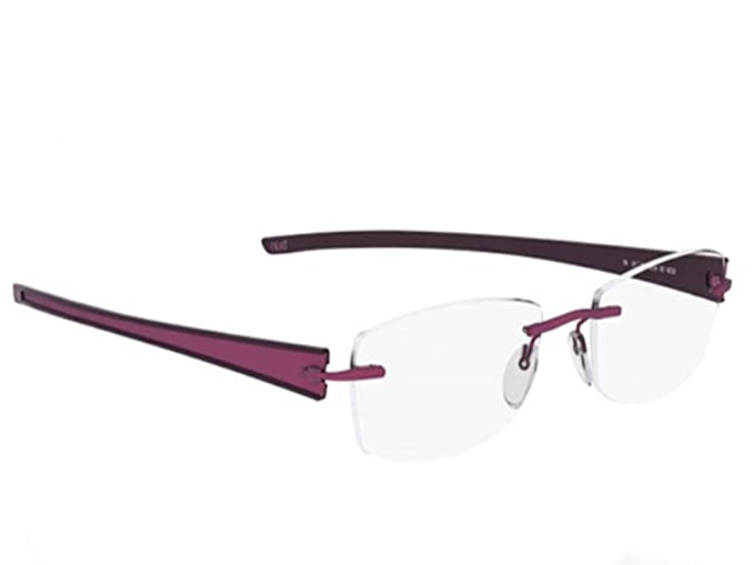 80e5cff8796 Silhouette Eyeglasses TITAN RAYS - 5242 5254 (4310-6053 rose red 54mm-19mm