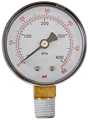 Pentair 15060 0000t Pressure Gauge Replacement Pool Spa