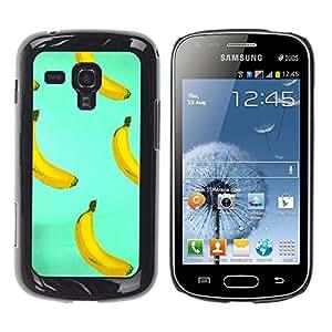 Dragon Case - FOR Samsung Galaxy S Duos S7562 - Art of banana - Caja protectora de pl??stico duro de la cubierta Dise?¡Ào Slim Fit