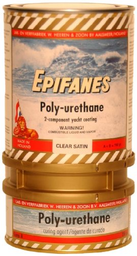 Epifanes Polyurethane Clear Satin (750 ml) by Epifanes