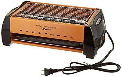 Livart LV-982 Electric Barbecue Grill, Orange from LG Livart