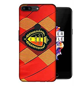 ColorKing Football Belgium 06 Red shell case cover for OnePlus 5T