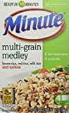 Minute Multi-Grain Medley Brown Rice Red Rice Wild Rice Quinoa  4 - 3 Oz Bags (Pack of 4)