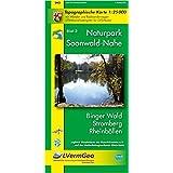 Naturpark Soonwald-Nahe /Binger Wald, Stromberg, Rheinböllen (WR): Naturparkkarte 1:25000 mit Wander- und Radwanderwegen und mit dem Soonwald-Steig (Freizeitkarten Rheinland-Pfalz 1:15000 /1:25000)