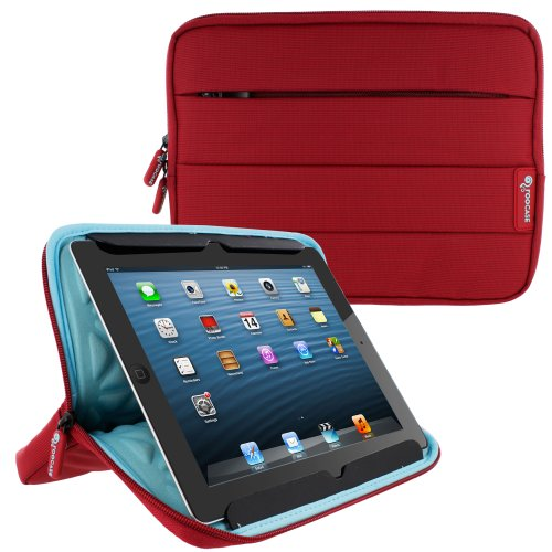 Tablet Sleeve Case Cover with Super Air Bubble Proection, 10', (Red)