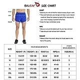 BALEAF Men's 3 Inches Running Shorts Reflective