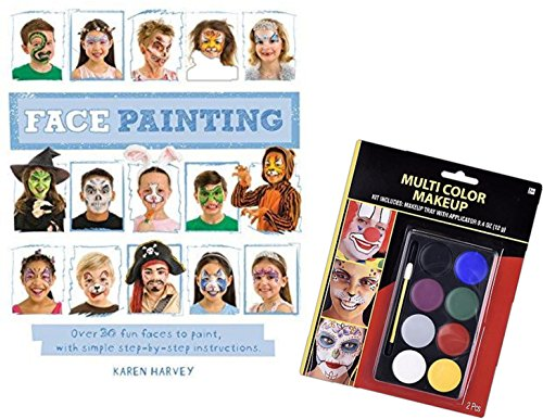 face-painting-kit-8-vibrant-color-palette-with-step-by-step-instructional-book-featuring-over-30-fac