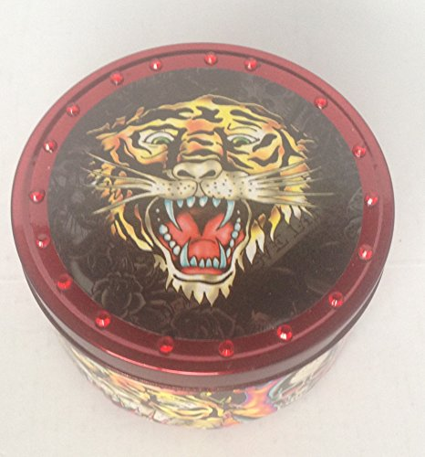 Ed Hardy Candle Medium Tin, Tiger