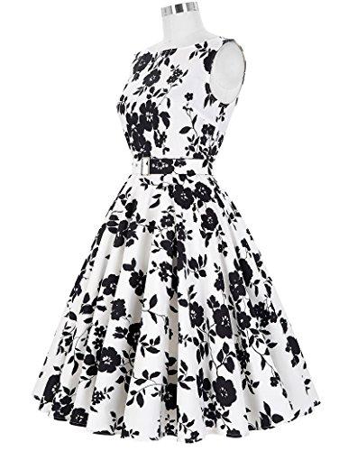 Yafex Para Vestido Mujer Estilo 24 Floral 4 rZrq5Wvzxw