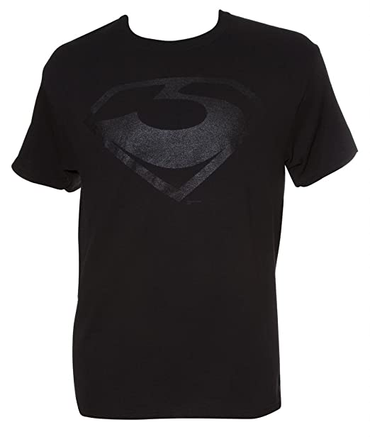 Amazon Dc Man Of Steel General Zod Symbol Black T Shirt Small