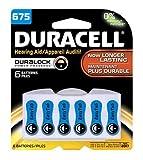Duracell Zinc Air Hearing Aid Battery 1.4 V Model Da 675 Pack 6