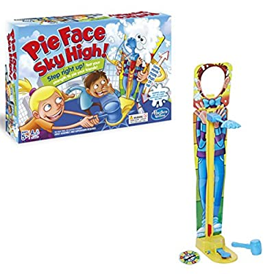 Hasbro Gaming Pie Face Sky High Game: Toys & Games