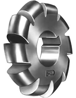 3.75 Diameter of Cutter High Speed Steel 3//4 Diameter of Circle F/&D Tool Company 12651-C232 Concave Cutter 1.25 Hole Size Arbor Type Form Relieved
