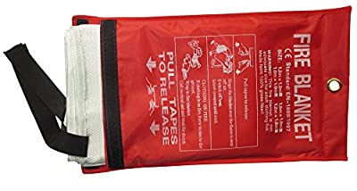Tonyko Fiberglass Fire Blanket, 39.3×39.3 Inches, 47.2×47.2 Inches, 59×59 Inches, 70.9×70.9 Inches, 78.7×78.7 Inches from Tonyko