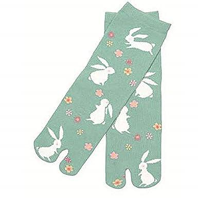 Japan Ninja 2toe Socks 31104810 Rabitto&floer Kyoto Kurochiku