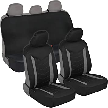 11+ BLACK REAR WATERPROOF SEAT COVERS FORD FOCUS