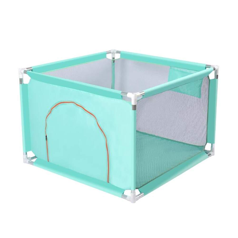 【新品】 赤ちゃんの保護フェンス子供の耐破壊ゲームPlaypen屋内幼児安全なクロールおもちゃの家マットと100のボール、100×100×68センチメートル (色 : Light green) Light green) B07JCJVMNG Light Green B07JCJVMNG, CooLZONもっと眠りを楽しもう!:0049aa42 --- a0267596.xsph.ru