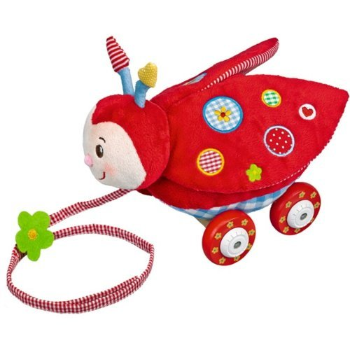 Baby Charms Beetle On Roller, 20 cm, Model# 11172 by Baby Charms