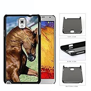 Galloping Thoroughbred Horse Hard Plastic Snap On Cell Phone Case Samsung Galaxy Note 3 III N9000 N9002 N9005