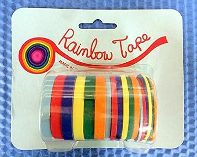 Rainbow Tape Acid Free Masking Tape -18 Roll Pack