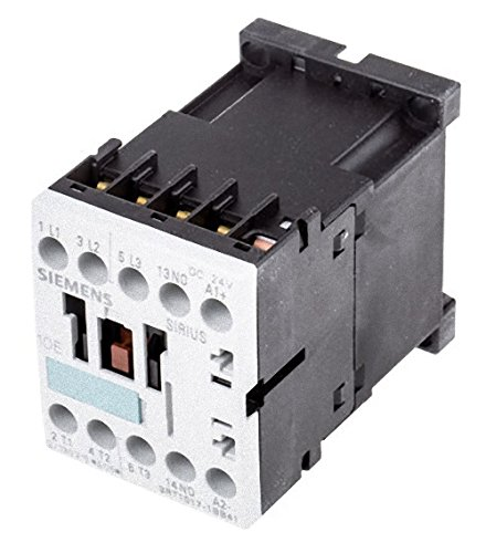 Siemens 3RT1017-1BB41 Contactor w/ 3RH1911-1FA22 Auxiliary Contact