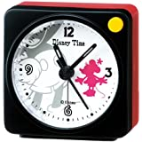 (セイコークロック) SEIKO CLOCK ディズニータイム ミッキー ミニー目覚まし時計 FD468K キャラクタークロック 黒白 アナログ