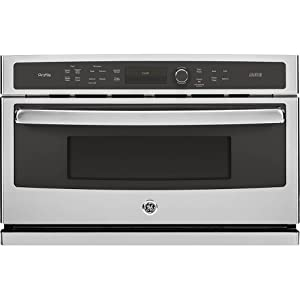 "GE PSB9240SFSS Profile Advantium 30"" Stainless Steel Electric Single Wall Oven - Convection - Speed Oven"
