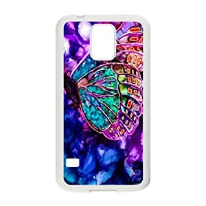 Butterfly ZLB579046 Customized Case for SamSung Galaxy S5 I9600, SamSung Galaxy S5 I9600 Case