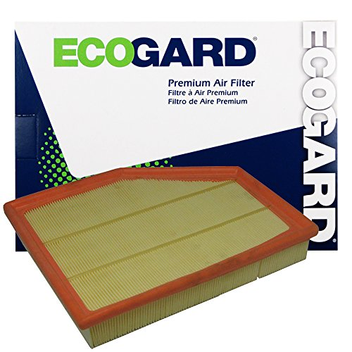 ECOGARD XA5620 Premium Engine Air Filter Fits BMW 528i, 530i, 525i, 530xi, 528i xDrive, 528xi, 525xi, Z4