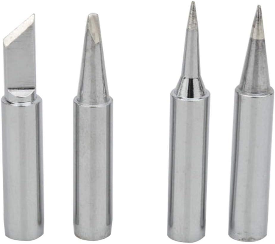 B 900 M-T-K I YUEMING 5 Piezas Puntas de Soldador Sin-plomo 2.4D Diferentes Modelos de Puntas Soldador Port/átil para 936 Estaci/ón de Soldadura Pistola de Soldadura 3C