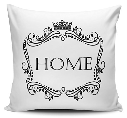 OneMtoss Pillow Covers Decorative Vintage Design Home Cushion Cover Canvas Pillow Case 24X24 Inches -