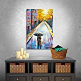 magazine article frame - Art Wall Paris Back Street Magic Gallery Wrapped Canvas Art by Susi Franco, 24 by 18-Inch