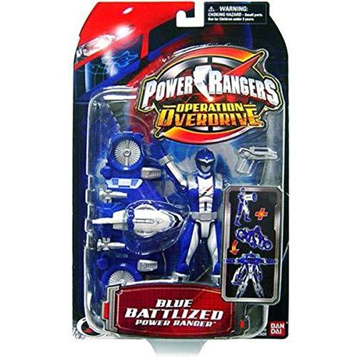 Power Ranger Operation Overdrive - Blue Battlized Power ()