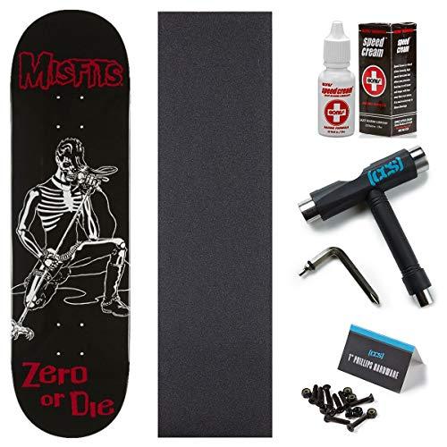 Zero x Misfits Brutality Skateboard Deck - 8.375