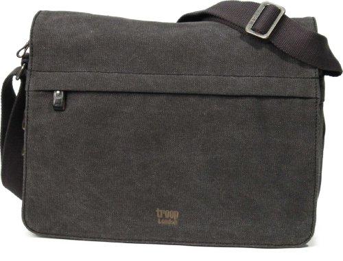 troop-london-classic-collection-cross-body-messenger-canvas-bag-case-trp0241-black