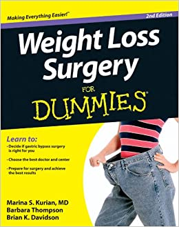 Weight Loss Surgery For Dummies Marina S Kurian Barbara Thompson
