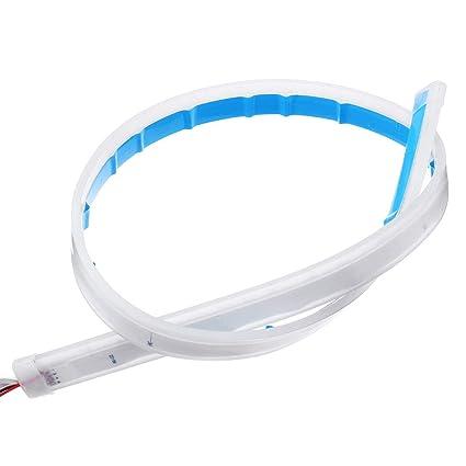 45 Cm 60 Cm Sequentielle Led Streifen Blinker Umschaltanzeige Tagfahrlicht Ice Blue 45cm 1 Gewerbe Industrie Wissenschaft
